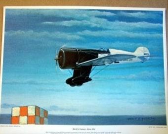 1932 Mae Haislip World Record Woman Aviator Cleveland Flygirls