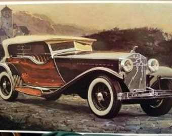 1931 Isotta Fraschini Castagna Body Sport Phaeton Classic Car