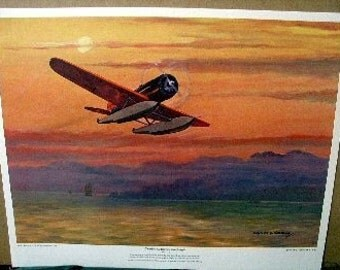 Charles Lindbergh Lockheed Sirius Monoplane Orient 1931
