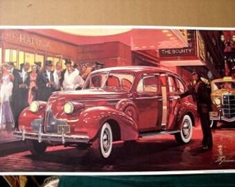 1939 Buick Roadmaster Sedan with Turn Signals Standard WOW