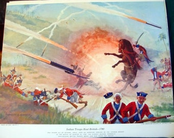 1780 Battle of Guntur India Chinese Rockets to Rout British Early Rocketry Battle