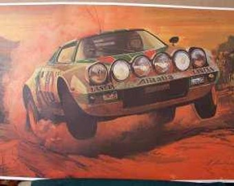 1976 Lancia Stratos Race Car African Safari Rally 3000 miles Waldegaard Thorszelius