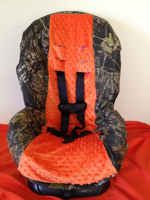 Camo Amp Orange Minky Ready To Ship Fabric Toddler And Infant