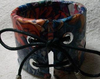 Graffiti Bangle Bracelet
