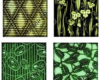 Printable Digital Collage Sheet, 1 Inch Squares, Digital Art, Japanese Images, Clip Art, Asian, Graphic Design, Scrapbooking  CS 242