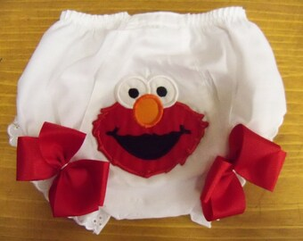 Elmo Bloomers to Match Dress 6 Months to 4T