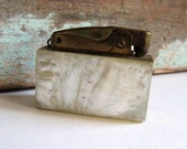 Vintage Lighter Crown MOP 40s 50 Sale
