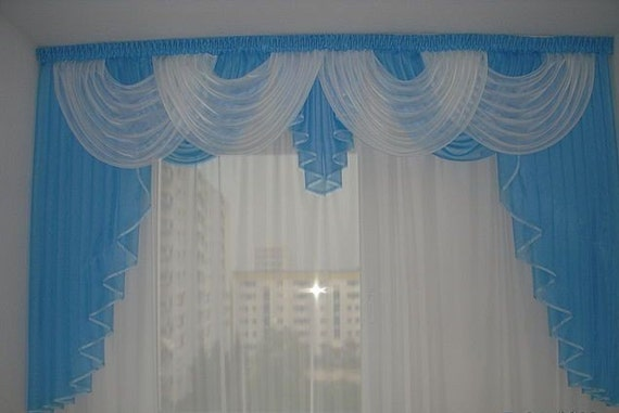 Items similar to sky blue curtains for the bedroom on etsy for Sky blue curtains for bedroom