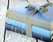 vintage blue book collection