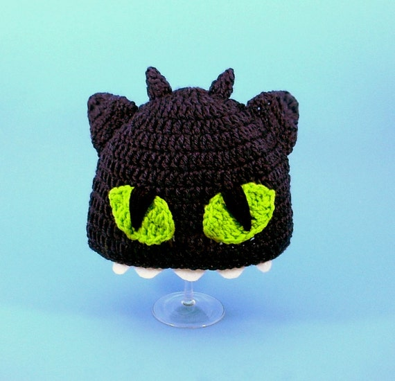Items similar to Toothless the Night Fury Hat / Beanie ...