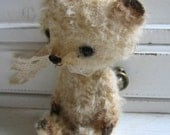 Chopper Pattern and Instructions for a miniature center seam Teddy bear. PDF file via e-mail