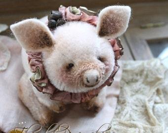 Piggy Rosa E-pattern.