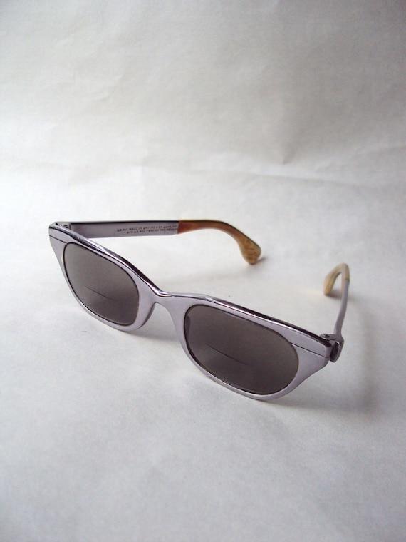 1950s Chrome frame Tura sunglasses