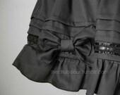 Black Kuro/Gothic Lolita Skirt