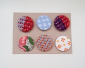 Funky  fabric badges