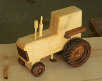 Another Classic Wooden Toy Tractor
