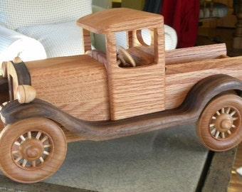 New Wooden Waltons Truck Replica