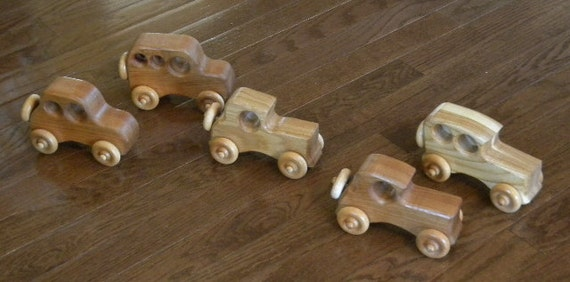 Toy Cars Perfect for 2 - 3 Year Olds