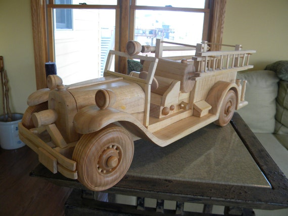Authentic Antique Firetruck Replica --REDUCED