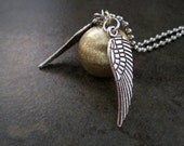 HP Golden Snitch Necklace