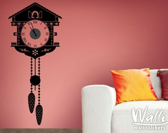 Cuckoo Clock Wall Decal