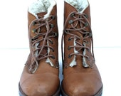 Vintage WHISKEY Brown ESPRIT Ankle Boots