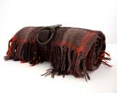 Vintage PLAID Picnic Blanket by Faribo