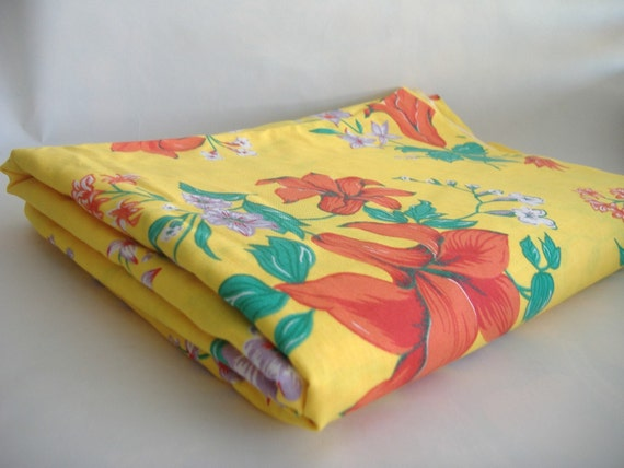 """3 Yards 31""""  Vintage Wamsutta Fabric Reserved for Zena"""