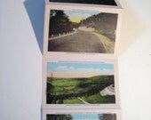 Taconic Trail Post Card Book 30's Souvenir Book
