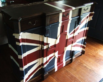 Old English Union Jack Buffet