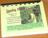 Amazing Herbs Cookbook by Marcy Lautanen-Raleigh of the Backyard Patch