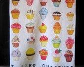 Cupcakes Kitchen Towel