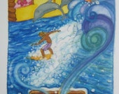 Surfing Dreams 10X20 Print