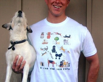 I like the DOG PARK Tshirt