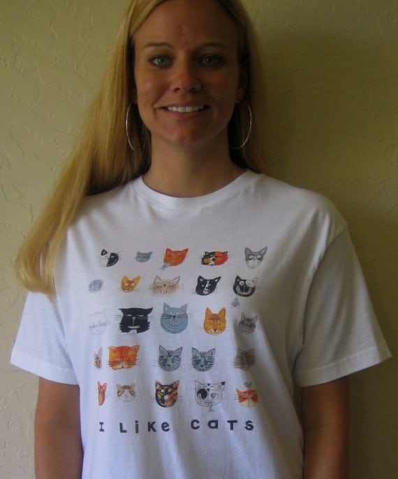 I Like Cats Unisex Tshirt