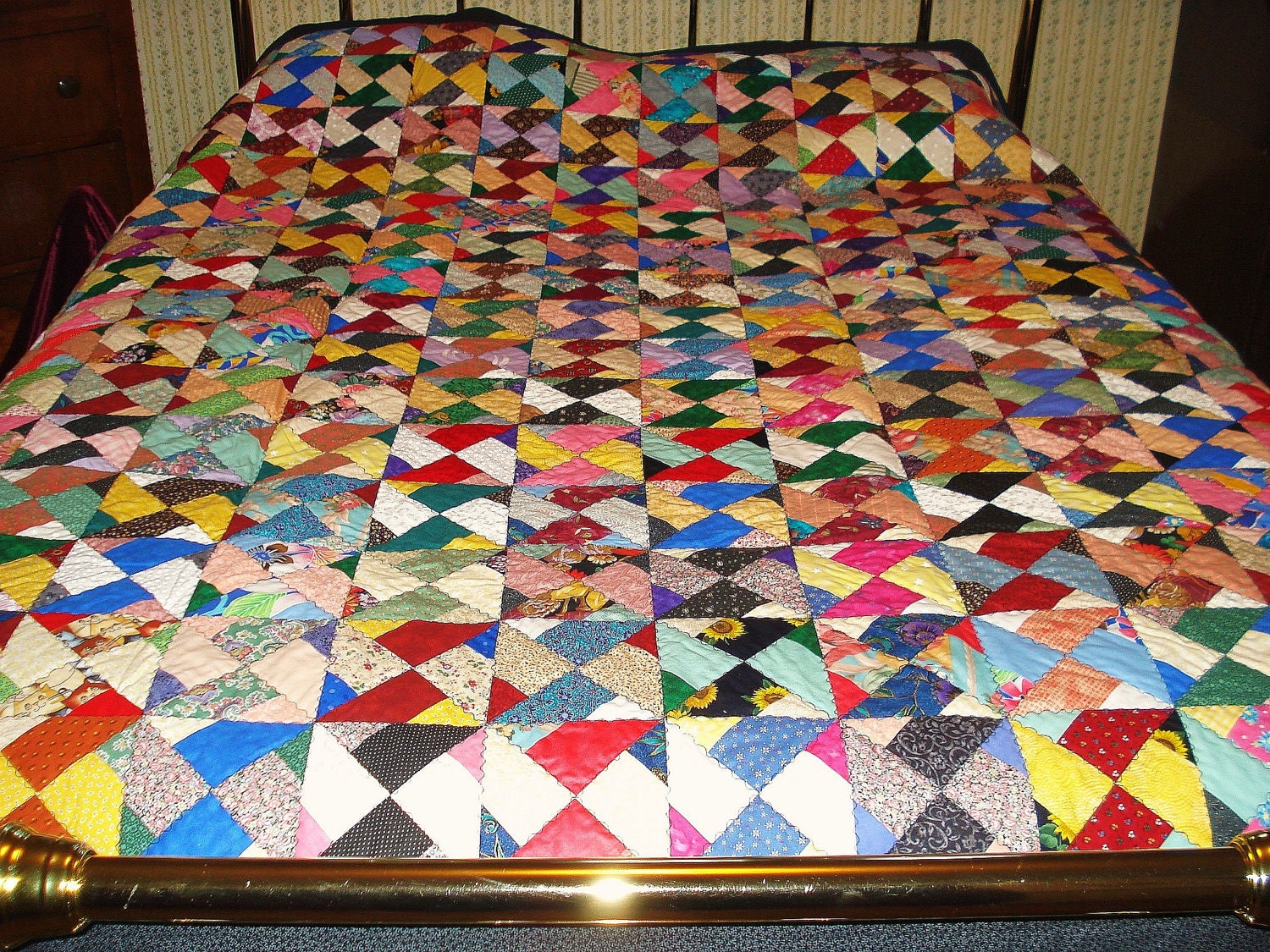 Twin Sister Scrappy Quilt
