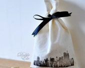 The Skylines - Eco Friendly Ribbon bag