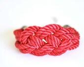 Sailor Knot Bracelet - Red