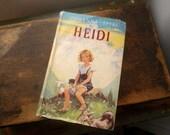 Vintage Book- Heidi