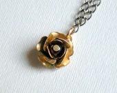 PROMOTION brass rose pendant