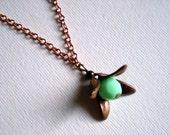 PROMOTION small flower pendant