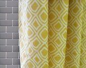 Geo Diamond Shower Curtain - Free Shipping - Pick your color