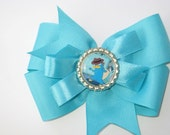 Phineas and Ferb Interchangeable Bottle Cap Hair Bow