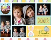 Printable Easter  Photo Card
