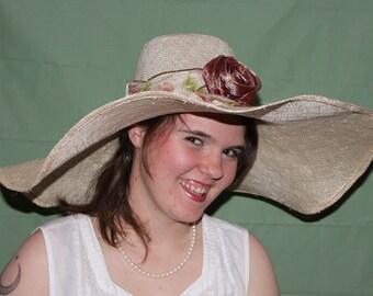 wide brimmed straw womens hat