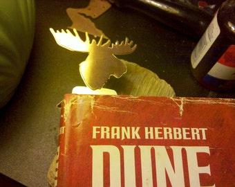 Custom Copper/Brass Bookmark