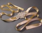 Soft Champagne Headband/Belt
