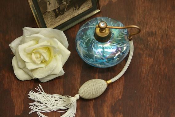 Vintage Opalescent Perfume Bottle