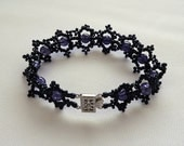 Black Galaxy Gorgeous Gothic Festive Bracelet