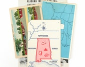 State Paper Pack: Alabama (Postcard, Flashcards, Book Pages)